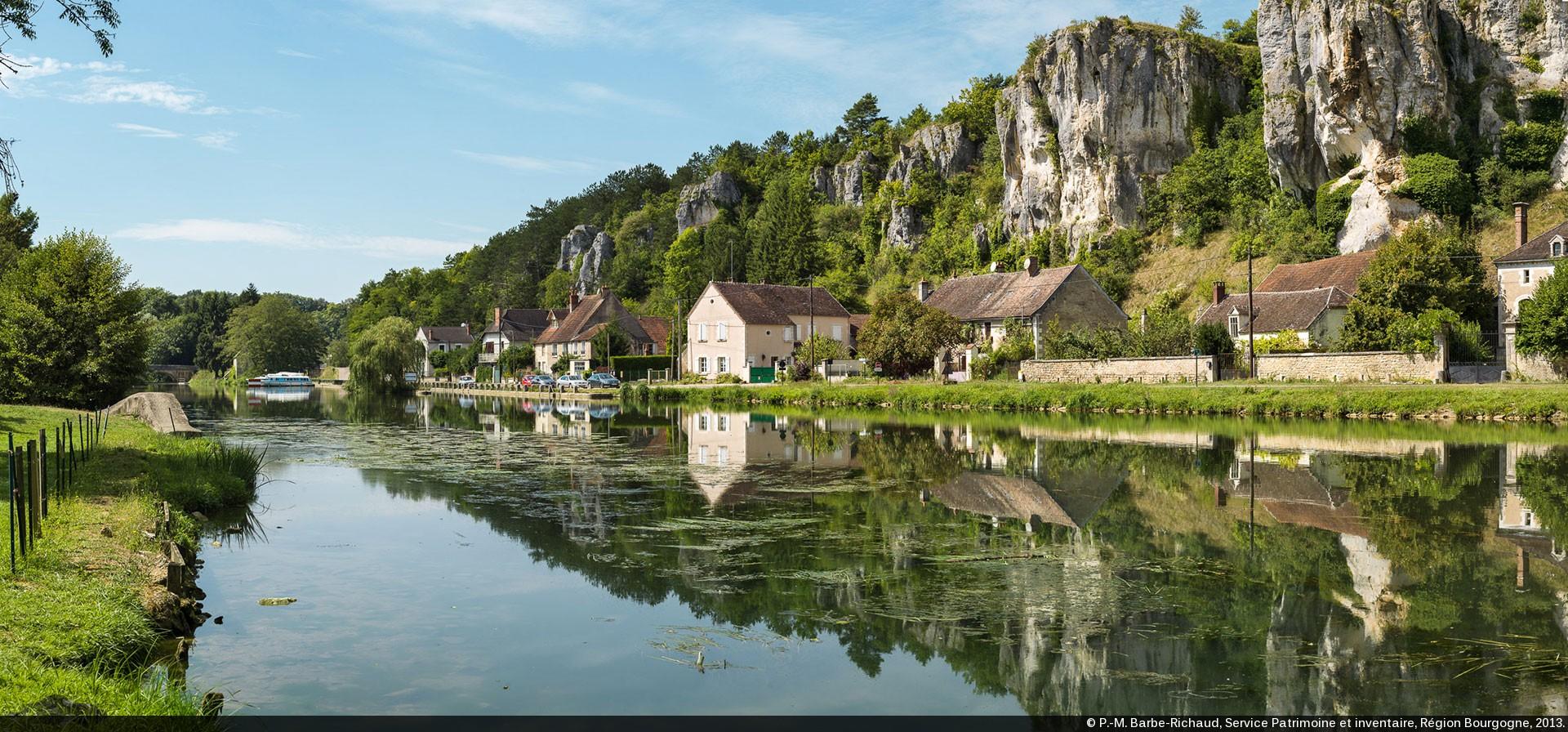 bourgogne paysage - Image